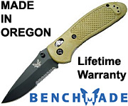 Benchmade Griptilian - Made in Oregon - Lifetime Warranty