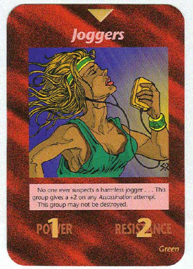 Illuminati Game Cards - Boston marathon